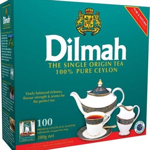 Чай Dilmah 100 пак. + 25 пак. ПРОМО 1шт. оптом