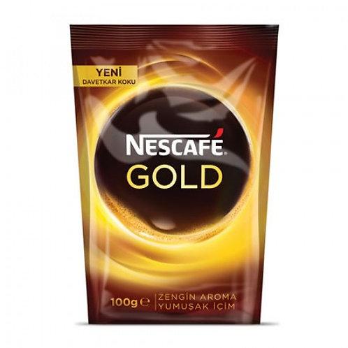 Нескафе голд  (пакет)  100гр 1шт. оптом