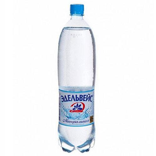 Липецкий Эдельвейс   Газ 1.5л пэт (1х6) вода оптом
