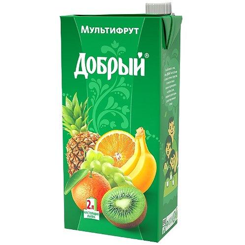 Добрый Мультифрут  2л (1х6) оптом