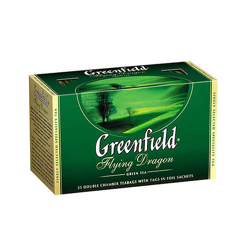 Чай Гринфилд  (25 пакет) 1шт. зеленый оптом