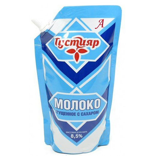 "Сгущеное молоко ""Густияр"" 270гр пакет 1шт. оптом"