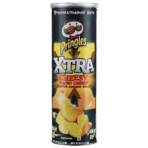 Принглс 170гр Xtreme Сырный Начо оптом