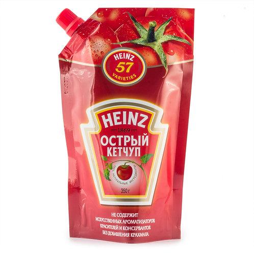 Кетчуп Heinz 350гр Острый 1шт. оптом