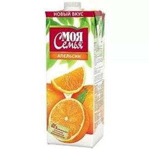 Моя Семья Апельсин 1л (1х12) оптом