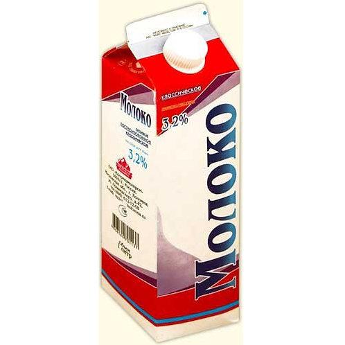"""Молоко """"Коломенское"""" 3,2% 1л (1х12) оптом"""