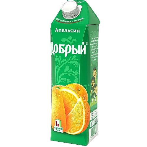 Добрый Апельсин 1л (1х12) оптом