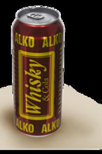 Алко Виски-Кола 0.5л ж/б (1х24) оптом