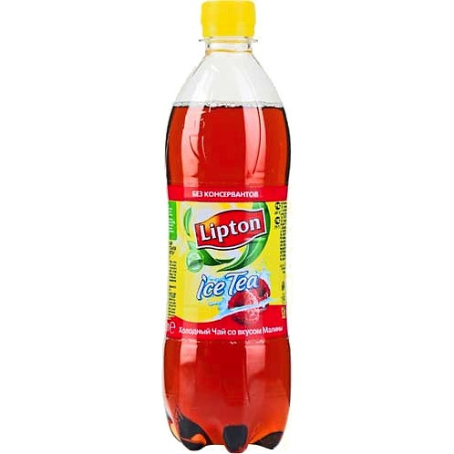 Липтон Чай Малина  0.6л пэт (1х12) оптом