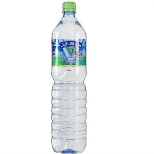 Сенежская Б/Г 1.5л пэт (1х6) вода оптом