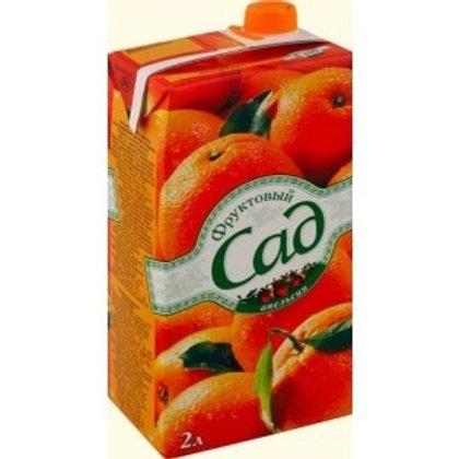 Фруктовый сад Апельсин 2л (1х6) оптом