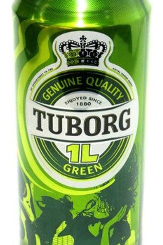 Туборг Грин 1л ж/б  (1х12) пиво оптом