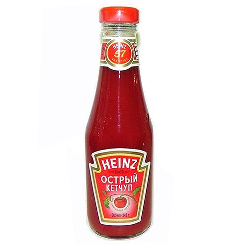 Кетчуп Heinz  342гр  острый ст. 1шт. оптом