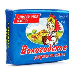 """Масло (слив) """"Вологодское"""" 82,5% 450гр 1шт. оптом"""