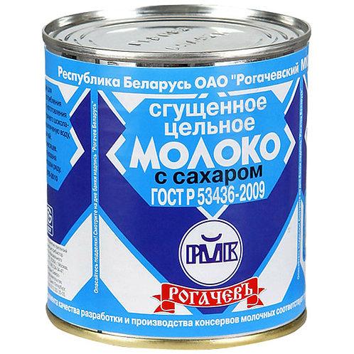 "Сгущеное молоко ""Рогачёв"" 400гр ж/б 1шт. оптом"