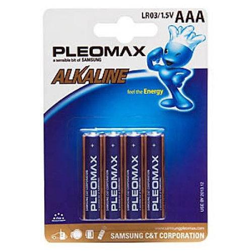 Батарейка Pleomax (Маленький) LR 03/AAA-(4шт) оптом