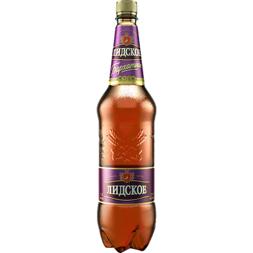 Лидское Бархатное 1,5л   пэт (1х6) пиво оптом