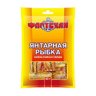 """Янтарная рыбка с перцем """"Флотская"""" 45гр 1шт."""