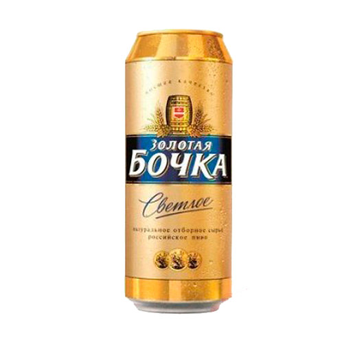 Золотая Бочка св 0.5л ж/б  (1х24) пиво оптом