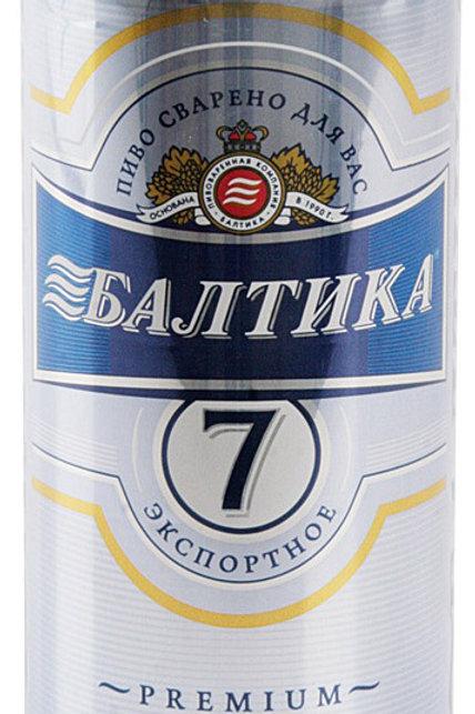Балтика №7 ж/б 0.5л  (1х24) пиво оптом
