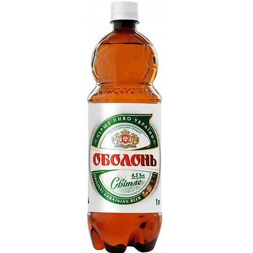 Оболонь Светлое 1л пэт (1х6) пиво оптом