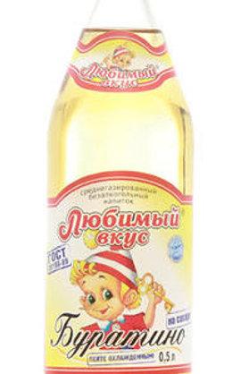 Лимонад Любимый Вкус Буратино 0.5л (1х20) оптом