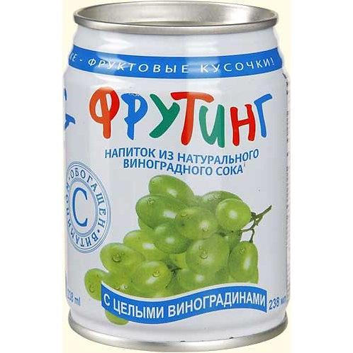 Фрутинг Виноград 0.238л ж/б (1х12) оптом