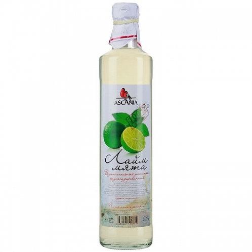 Лимонад Аскания Лайм-мята  0,5л ст (1х12) оптом