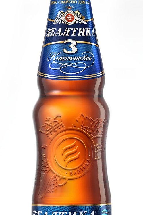 Балтика №3 пэт 1.5л  (1х9) пиво оптом