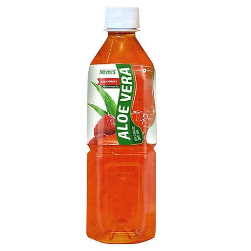 АЛОЭ ВЕРА напиток с кусочками клубника 0,5л (1х20) оптом