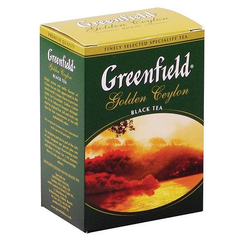 Чай Гринфилд  100гр  черный 1шт. оптом