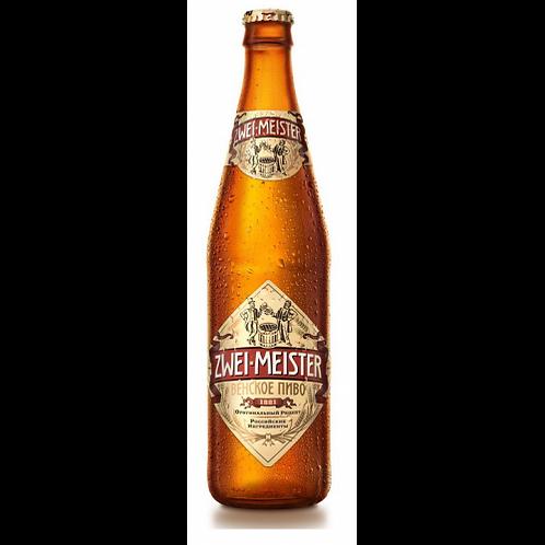 Цвай Майстер венское  ст. 0,5л (1х20) пиво оптом