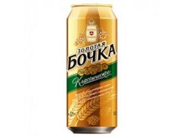 Золотая Бочка клас. 0.5л ж/б  (1х24) пиво оптом