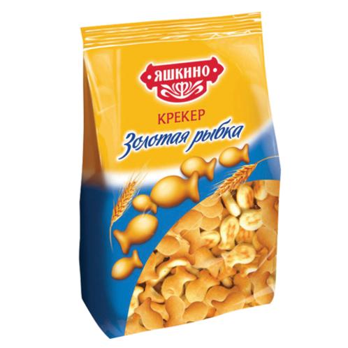 Крекер  Яшкино Золотая Рыбка  150гр 1шт. оптом
