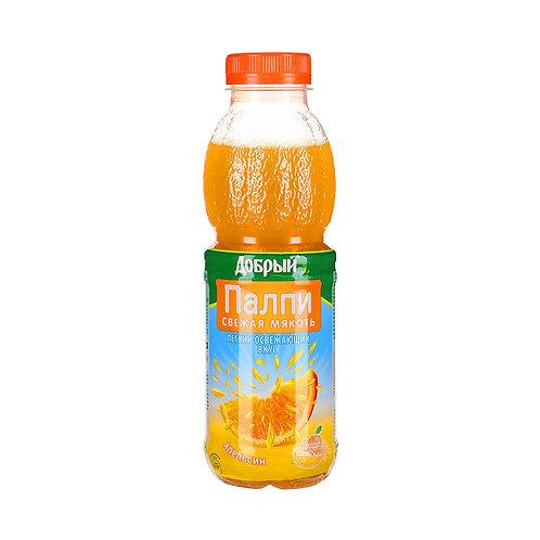 Добрый Палпи Апельсин 0.45л пэт (1х12) оптом