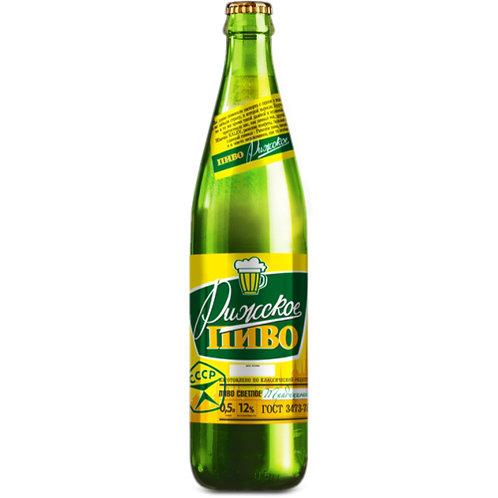Рижское традиционное   0.5л ст (1х20) пиво оптом