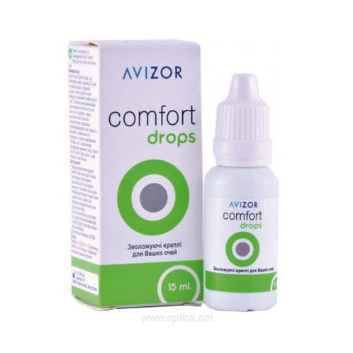 Ակնակաթիլ Avizor® comfort drops 15ml.