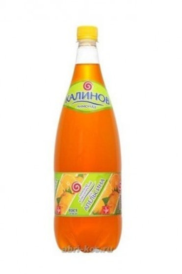 Лимонад Калинов  Апельсин 1,5л пэт (1х6) оптом