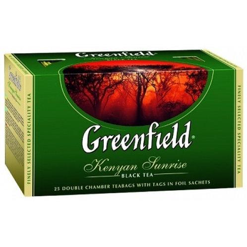 Чай Гринфилд  (25 пакет) черный 1шт. оптом