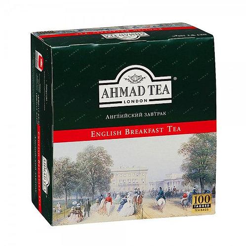 Чай Ахмад   Анг. Завтрак  (100 пакет)  1шт. оптом