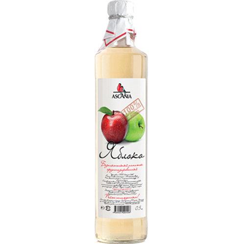 Лимонад Аскания Яблоко 0,5л  ст (1х12) оптом