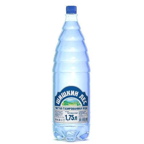 Шишкин лес 1.75л  газ  пэт (1х6) вода оптом