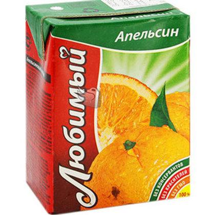 Любимый сад Апельсин  0.2л (1х27) оптом