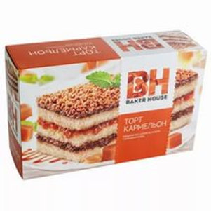 Торт Baker House  Кармельон 350 гр. оптом