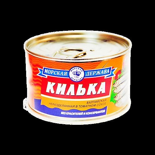 Консерва  Килька в т/с 240гр Морская Держава 1шт. оптом