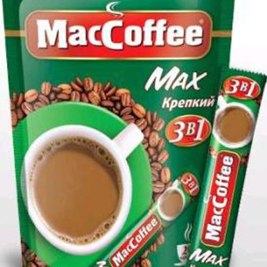Мак Кофе 3х1 MAX  Крепкий 16гр (1х20) оптом