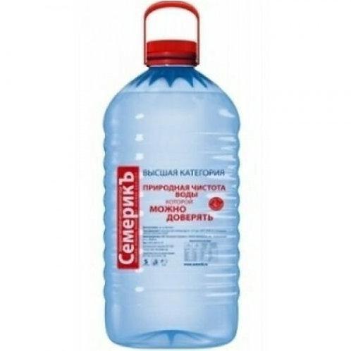 Семерик  5л пэт (1х4) вода оптом