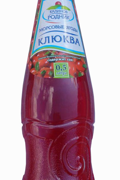 Калинов Морс Ягоды Клюква 0,5л пэт (1х12) оптом