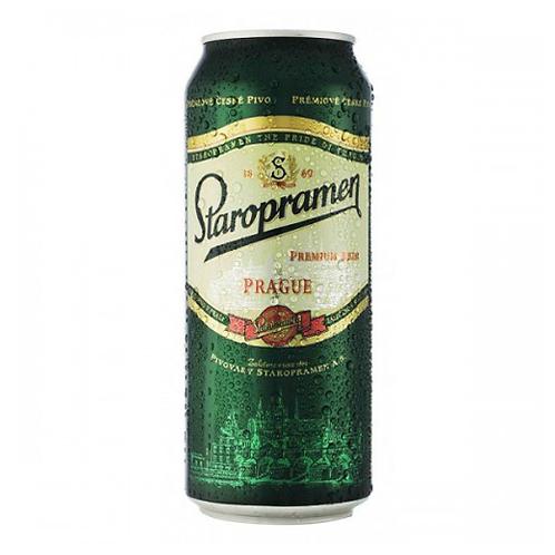 Старопрамен 0.5л ж/б (1х24) пиво оптом