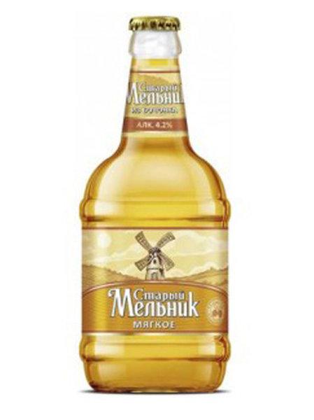 Старый Мельник из Бочонка Мягкое 0.5л ст  (1х12) пиво оптом